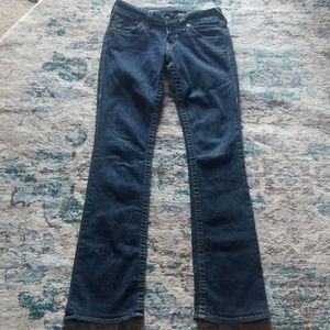 True Religion Straight Leg Jean's 27